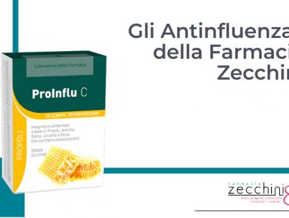 Gli Antinfluenzali della Farmacia Zecchini