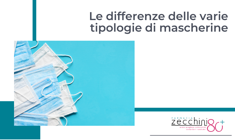 Le diverse tipologie di mascherine, guida all'uso