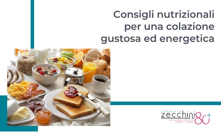 Consigli nutrizionali per un carico di energia a colazione